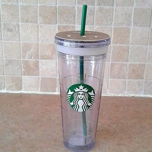 Starbucks Mark it. venti create your own cold cup.